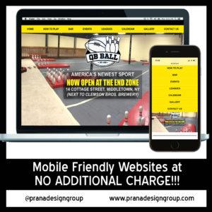 website design in vernon