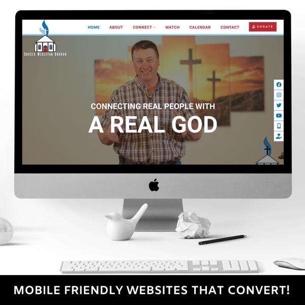 website designer nj church web developer new jersey